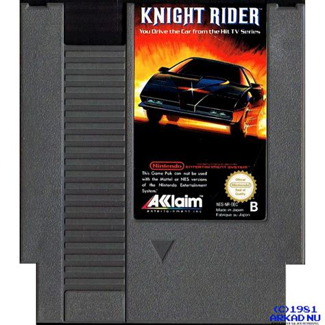 KNIGHT RIDER NES SCN - Have you played a classic today?