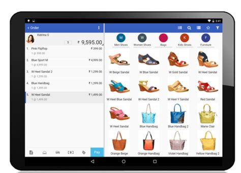 Shoe Store POS Billing Software with Inventory, Point Of