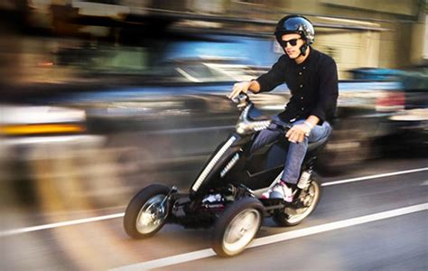 ELECTRIC THREE WHEEL MOTORCYCLE | BY SWAY