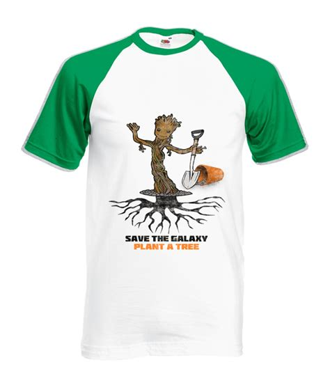 Baby Groot, Plant a Tree Parody T-shirt, save Guardians of