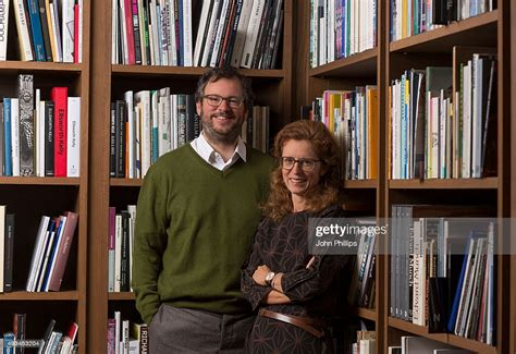 Iwan Wirth and Manuela Wirth pose for a photo at Hauser