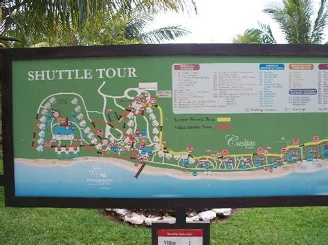 Map of the hotel-we stayed in the bottom middle - Picture