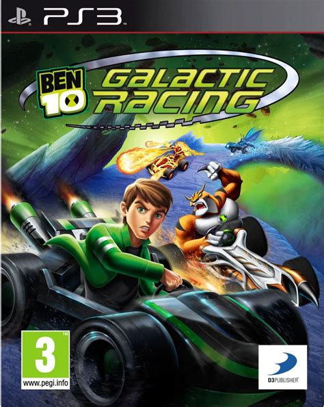 Ben 10: Galactic Racing - PS3   Review Any Game