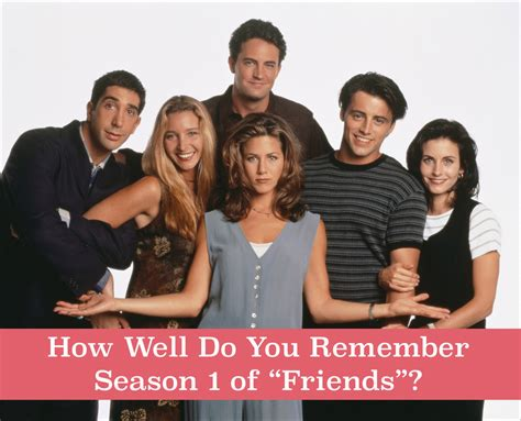 """How Well Do You Remember Season 1 Of """"Friends""""?"""