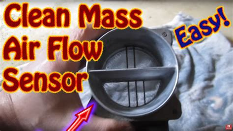 How to Clean  Replace a Mass Air Flow (MAF) Sensor on