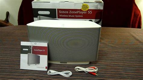 Sonos PLAY 5 aka S5 - Hands on Review
