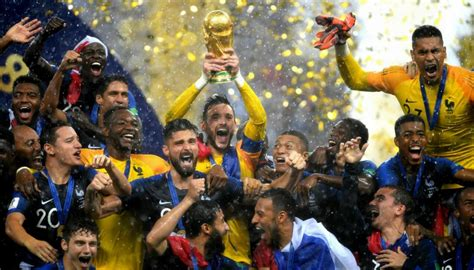 Football World Cup final: France crowned champions after