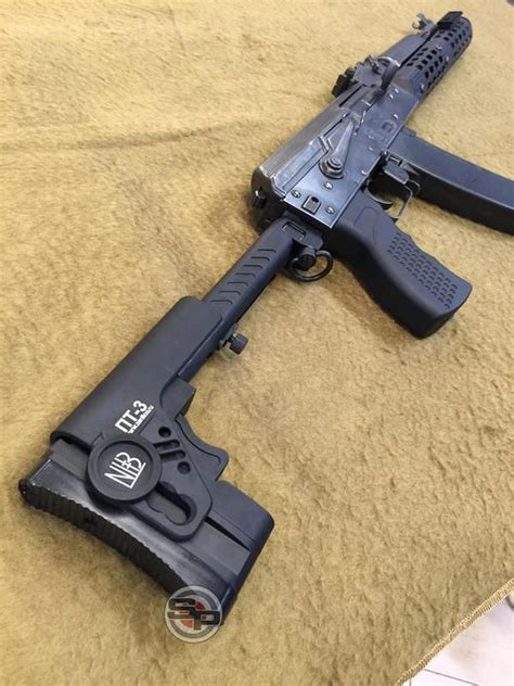 TWI - Russian PT3 Tactical Folding Butt Stock for GHK WE
