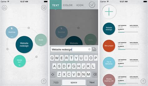 Mindly for iOS Reworks Mind Maps for Small Screens
