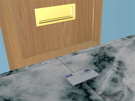 How to Install a Mail Slot (with Pictures) - wikiHow