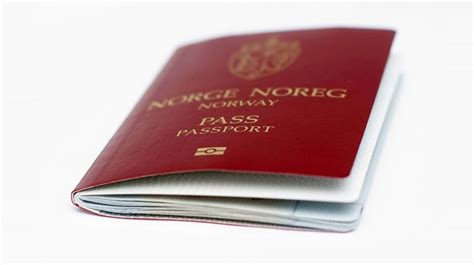 Norsk Passport - norsk 2020