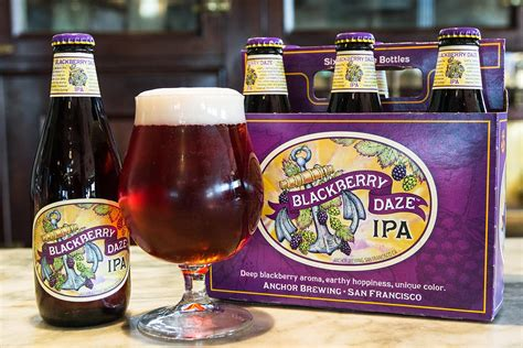 Anchor Brewing Releases Blackberry Daze IPA - Chilled Magazine