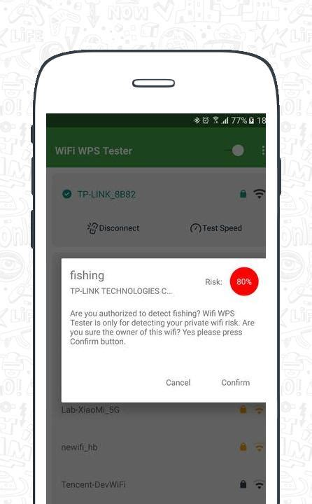 WiFi WPS Tester - No Root To Detect WiFi Risk app APK download