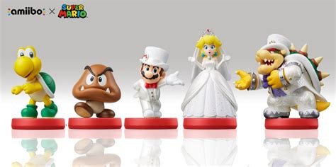 Full look at the Super Mario Odyssey amiibo (including