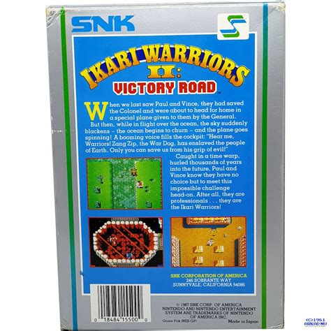 IKARI WARRIORS II VICTORY ROAD NES REV-A - Have you played