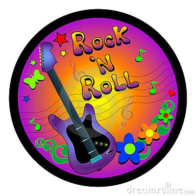 Rock And Roll Graphic Royalty Free Stock Photos - Image