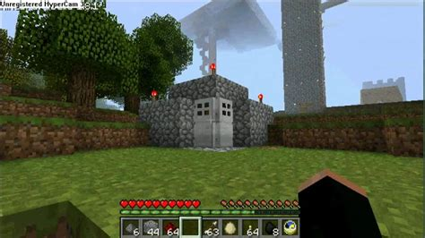 Minecraft Nuclear Fallout Shelter + Weird Occurrence