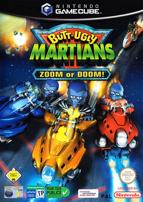 Butt-Ugly Martians: Zoom or Doom! (2002) - MobyGames
