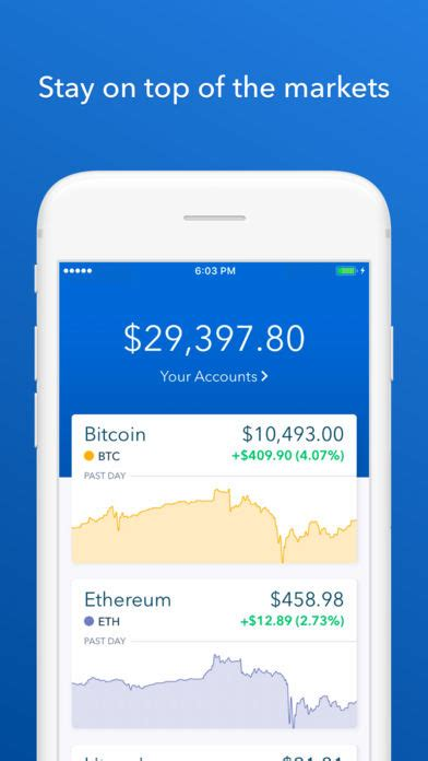 Coinbase - Buy Bitcoin & more for iOS - Free download and