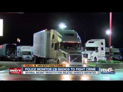 Truck stop hookers make deals on CB radios as Indianapolis
