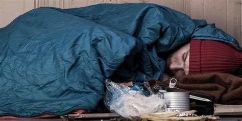 How to help a homeless person you see sleeping rough in
