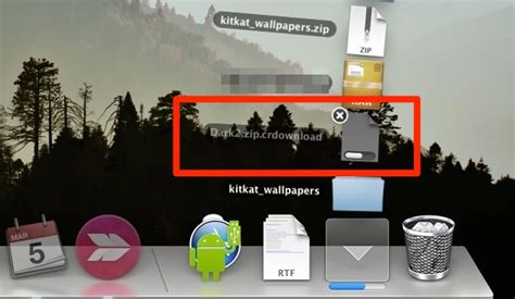 Watch File Download Progress Easily in Mac OS X from Dock