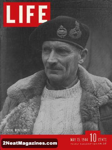 For Sale - Life Magazine May 15, 1944 - General Montgomery