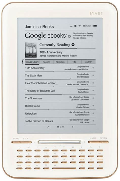 iRiver Story HD eBook Reader Review and How To's