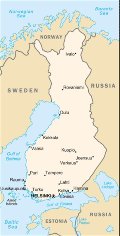 Finland - a Cruising Guide on the World Cruising and