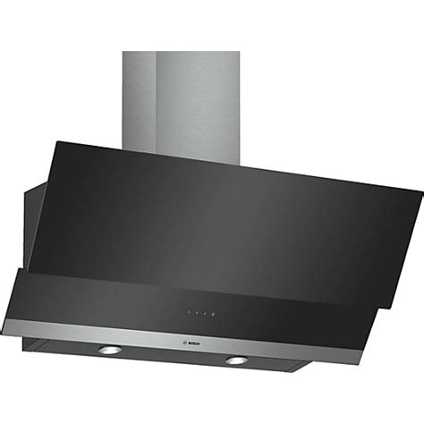 Bosch Serie 4 90cm Angled Glass Hood Touch Control Black