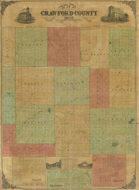 Map of Crawford County, Ohio | Library of Congress