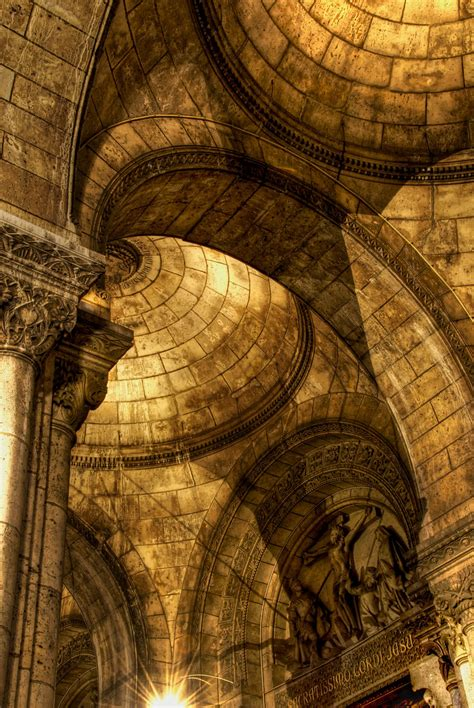 Arches of Sacre-Coeur - Arches of the Sacre-Coeur
