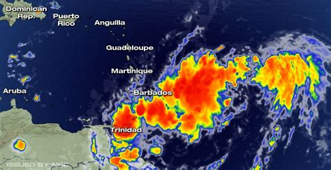 BREAKING: Tropical storm warnings triggered in several