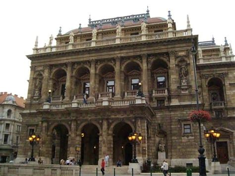 Inside the Hungarian Opera House in Budapest