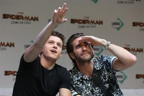 Tom Holland and Jake Gyllenhaal Kept Getting in Trouble on