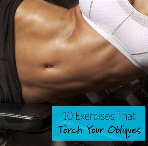 10 Exercises That Torch Your Obliques | Fitness Magazine