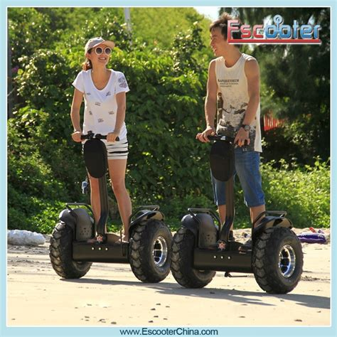 Off Road 2000W Electric Chariot X2 Segway Scooter 2 Wheel