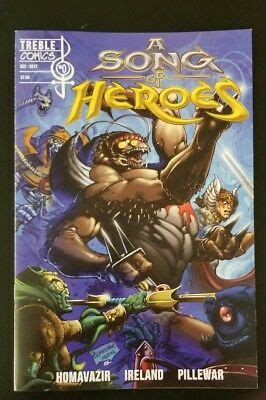 A Song of Heroes Issue 0 zero Treble Comics masters of the