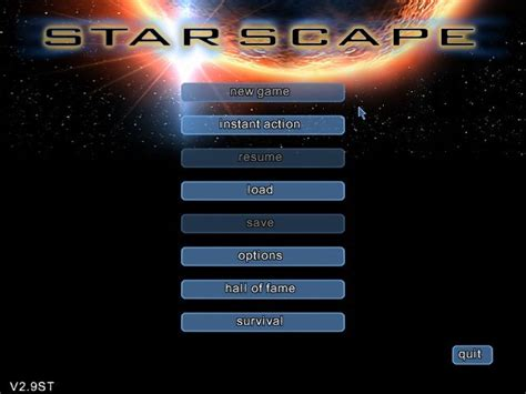 Starscape (2003) by Moonpod Windows game