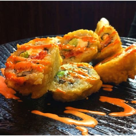 Deep Fried Sushi, so unhealthy but amazingly delicious