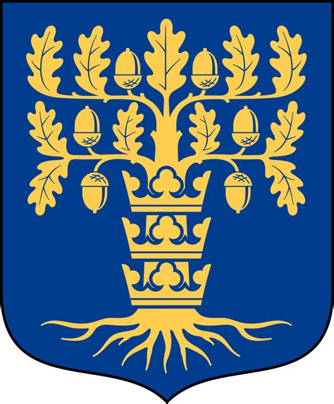 Coat of arms of provinces of Sweden - Wikimedia Commons