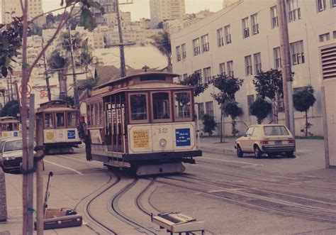 PlacesPages: 1992 California Trip: San Francisco Cable Cars