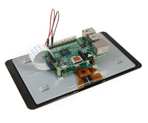 """Raspberry-Pi 7"""" Touch Screen Display with 10 Finger"""