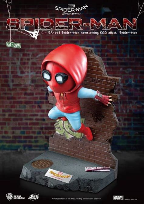 Spider-Man: Homecoming Egg Attack EA-029 Spider-Man Statue