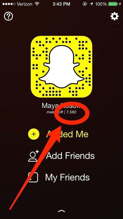 Here's how to find your Snapchat score   Business Insider