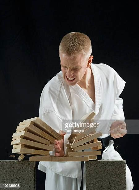 Karate Breaking Stock Photos and Pictures | Getty Images