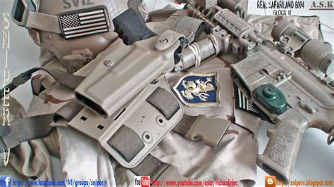 SAFARILAND 6004 REAL DEAL HOLSTER FOR KWA GLOCK 17 - YouTube