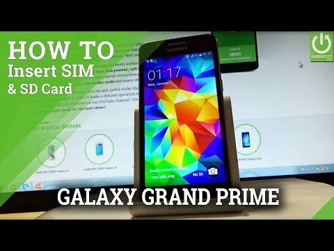 How to Insert Sim Card and SD Card in Samsung Galaxy J3