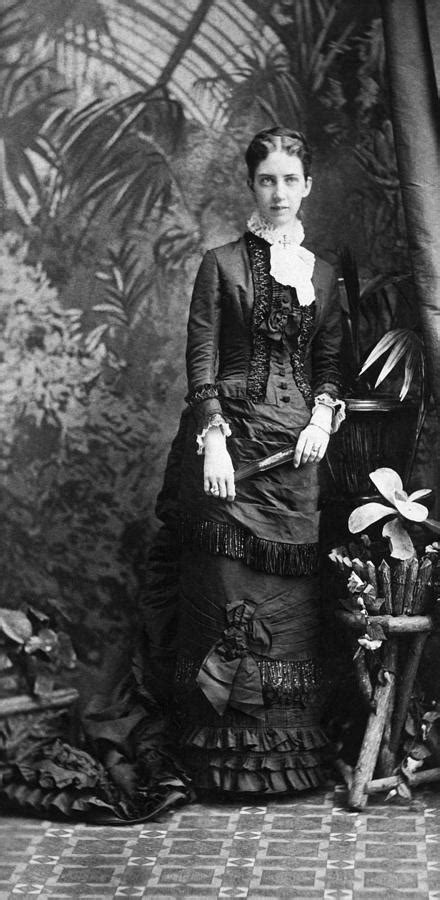 Mabel Hubbard Bell (1857-1923) Photograph by Granger