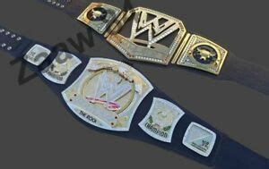 The Rock W Spinner and world Championship Belt Replica